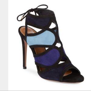 Sale! New Auth Aquazzura Vika Sandal. Sz 40 fit 9
